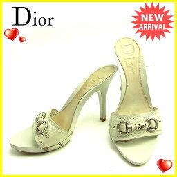 Christian Dior【クリスチャンディオール】 ミュール  レディース