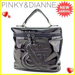 Pinkey & Dianne【ピンキー&ダイアン】 ハンドバッグ /エナメル合皮 レディース
