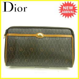 Christian Dior【クリスチャンディオール】 セカンドバッグ /PVC×レザー レディース