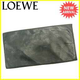 LOEWE【ロエベ】 長財布(小銭入れなし) /ラムレザー レディース