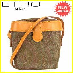 ETRO【エトロ】 ショルダーバッグ /PVC×レザー レディース