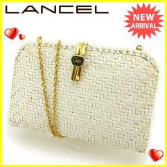 LANCEL【ランセル】 クラッチバッグ  レディース