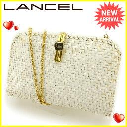 LANCEL【ランセル】 セカンドバッグ  レディース