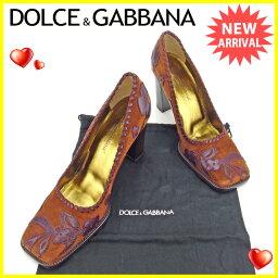 DOLCE&GABBANA【ドルチェアンドガッバーナ】 パンプス  レディース