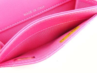 シャネルCHANEL名刺入れ新作レディース2015春夏モデルマトラッセピンクグラデーションカーフスキン(対応)超レア限定商品(未使用品)J10729