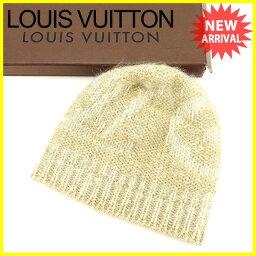 LOUIS VUITTON【ルイ・ヴィトン】 帽子 /モヘア×ウール×ナイロン×コットン  レディース