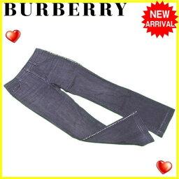 BURBERRY【バーバリー】 デニムパンツ /綿/95%ポリウレタン/5% レディース