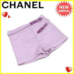 CHANEL【シャネル】 パンツ /cotton/100% レディース