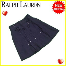RALPH LAUREN【ラルフローレン】 スカート /レーヨン/58%麻/42%(裏地)絹/100% レディース