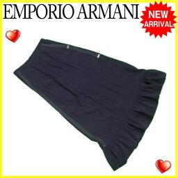 Emporio Armani【エンポリオ・アルマーニ】 スカート /ACETATE/50%VS/50%(裏地)C/56%VS/44% レディース