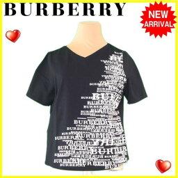BURBERRY【バーバリー】 カットソー /綿/91%ポリウレタン/9% レディース
