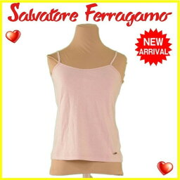 Salvatore Ferragamo【サルヴァトーレフェラガモ】 キャミソール /C/100% レディース