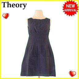 theory【セオリー】 ワンピース /綿/78%ナイロン/22%(スリップ)綿/100% レディース