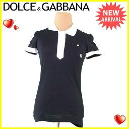 DOLCE&GABBANA【ドルチェアンドガッバーナ】 ポロシャツ  レディース