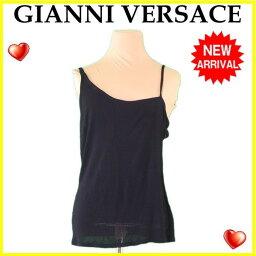 Gianni Versace【ジャンニ・ヴェルサーチ】 キャミソール /RAYON/100% レディース