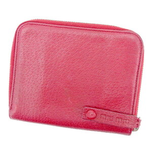 release date: 579a4 79362 ミュウミュウ(MIUMIU) 中古 レディース二つ折り財布 | 通販 ...