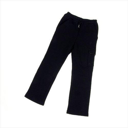 【中古】 バーバリー パンツ ウエストゴム ♯キッズ130Aサイズ スウェット ホース刺繍 ブラック BURBERRY D1073 ブランド