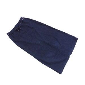 [优惠券目标商品] [二手货] MCM MCM裙摆长后开s女装64-91尺寸紧身轮廓靛蓝色海军F667