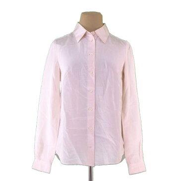 【中古】 クロエ ブラウス シャツ ♯34サイズ 長袖 ライトピンクベージュ Chloe G807 ブランド