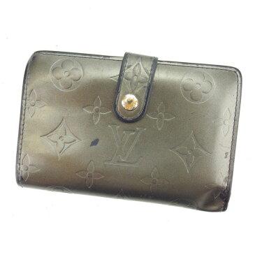 【中古】 ルイヴィトン がま口財布 さいふ 二つ折り財布 さいふ ポルトモネビエヴィエノワ モノグラムマット ノワール(ブラック) モノグラムマットレザー Louis Vuitton L1029 ブランド