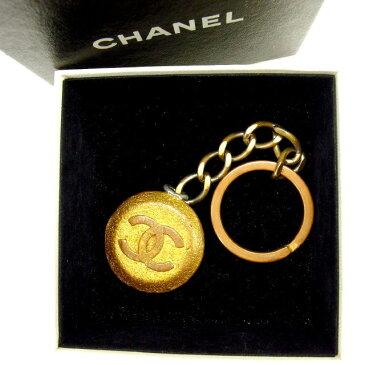 【中古】 シャネル Chanel キーホルダー ヴィンテージ ゴールド ココマーク レディース Y1452s .