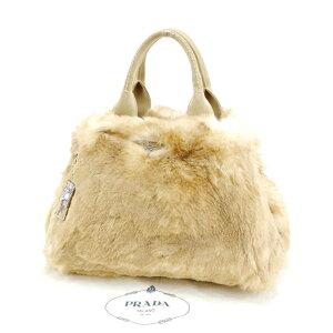 [时尚促销] [10%优惠] [二手]普拉达(Prada)手提袋手提袋Kanapa Ecolapan x麂皮米色PRADA返回存储时尚品牌品牌手提袋手提包流行礼品快速交货库存处理男士女士女士一件夏季T11939。