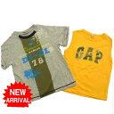 【中古】 ディーゼル ギャップ Diesel 2点セット◆Tシャツ&タンクトップ レッド イエロー キッズ ロゴ レディース E020s