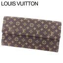 【中古】 ルイ ヴィトン Louis Vuitton 長財布 財布 フ...