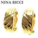 【残り1点】 【中古】 ニナリッチ NINA RICCI イヤリング アクセサリー レディース ゴールド 【ニナリッチ】 E1473