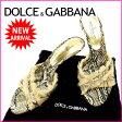 【送料無料】 ドルチェ&ガッバーナ DOLCE&GABBANA サンダル #36 レディース パイソン ベージュ×ゴールド 麻×レザー (あす楽対応)人気 良品【中古】 J6059