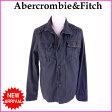 【送料無料】 () アバクロンビー&フィッチ Abercrombie&Fitch ジャケット コート Mサイズ メンズ ワークデザイン ダークグレー C 100% 【中古】 B535