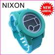 【送料無料】 ニクソン NIXON 腕時計 クロノグラフ メンズ デジタルムーブメント THE UNIT 40 ライトブルー クリスタルガラス×シリコン×ポリカーボネート (あす楽対応)新品 未使用 【中古】 J8037