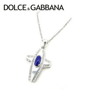 [可用优惠券] [二手]杜嘉班纳(Dolce&Gabbana)项链吊坠配件杜嘉班纳(Dolce&Gabbana)人造石交叉十字架银海军蓝银925杜嘉班纳(DOLCE&GABBANA)女士礼物1受欢迎的好夏天库存处理时尚T6815