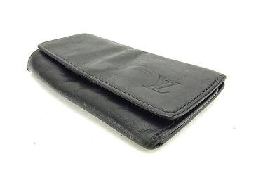 【中古】 ルイ ヴィトン Louis Vuitton キーケース メンズ ミュルティクレ4 ノワール(ブラック) ノマドレザー T15786