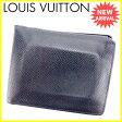 【送料無料】 ルイ ヴィトン Louis Vuitton 二つ折り財布 メンズ ポルトフォイユフロリン タイガ ボレアル(ダークネイビー) タイガレザー 人気 セール 【中古】 L1237 ★