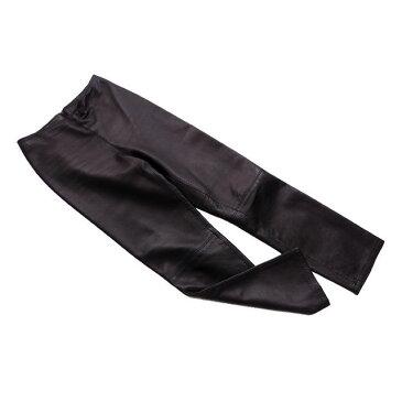 【中古】 ジャンニ ヴェルサーチ パンツ フルレングス ウエストZIP ブラック GIANNI VERSACE B921
