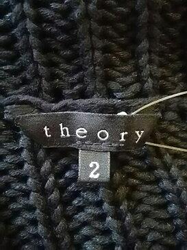 theory(セオリー) カーディガン サイズ2 S レディース 黒【20181205】【中古】【dfn】