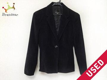【新着】CLEARIMPRESSION(クリアインプレッション)ジャケットサイズ1Sレディース黒【20180714】【中古】