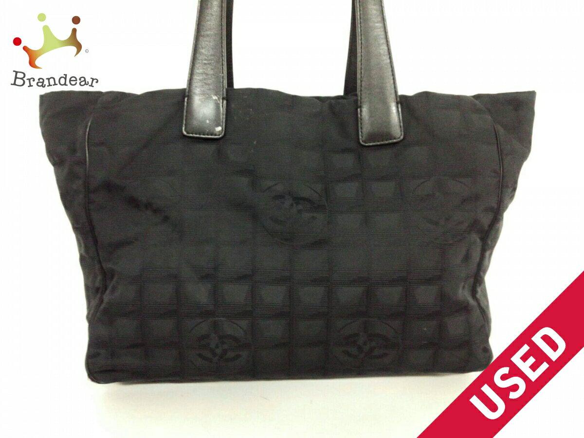 cc50fb486c5 CHANEL tote bag New travel line MM nylon jacquard leather (N1168
