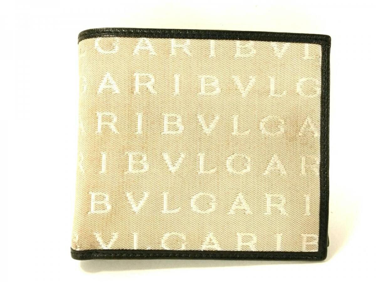 d0b8b8548525 新着】BVLGARI(ブルガリ) SalvatoreFerragamo 2つ折り財布 ロゴマニア ...