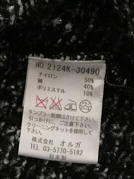 【新着】enrecre(アンレクレ)ジャケットレディース黒×白×シルバー【20190714】【中古】