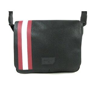 BALLY单肩包漂亮的商品■6224079黑色x白色x红色皮革[20200513] [二手] [dfn]