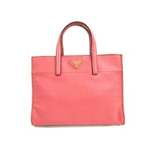 PRADA (프라다) 핸드백 좋은 상태 ■ 핑크 가죽 [20200614] [중고] [dfn]