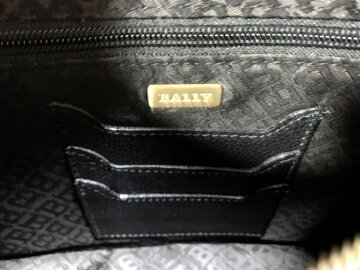 【新着】BALLY(バリー)セカンドバッグ黒レザー【20200116】【中古】