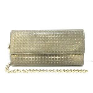 克里斯汀·迪奥(Christian Dior)钱包Lady Dior / Micro Canage金链钱包/压花小牛皮[20200511] [二手] [dfn]