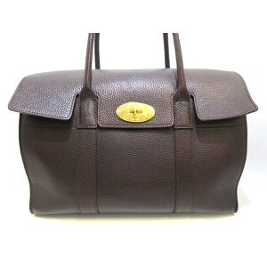 MULBERRY Handbag Base Water HH3788/346K15 Bordeaux Leather [20200630] [Used] [dfs]