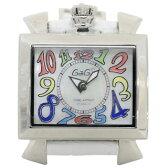 ガガミラノ 時計 ナポレオーネ 40mm マルチカラー 6030.1 レディース ユニセックスサイズ GaGa MILANO クオーツ ホワイトシェル ガガミラノ 腕時計【時計】【腕時計】 【あす楽対応_関東】