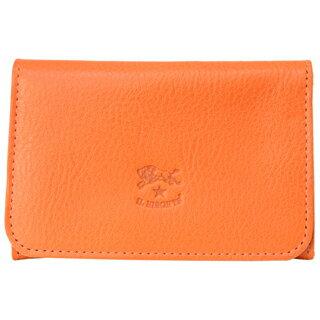 イルビゾンテ カードケース パスケース 二つ折り 名刺入れ 折りたたみ C0470 P 166 Orange オレンジ スタンダード STANDARD メンズ/レディース 【あす楽対応_関東】