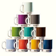 """【送料無料】カラフルな""""デザインカップ""""でコーヒーライフPANTONE マグ C/S 4 カラーミックス..."""