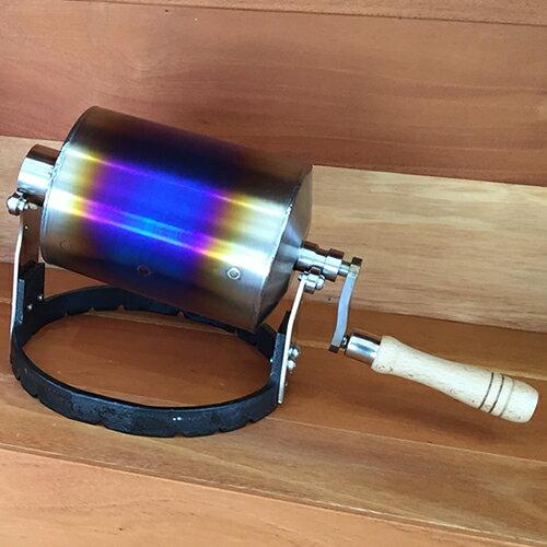 京都 YOSANO ROASTER Titanium ドラム:ブランディングコーヒー